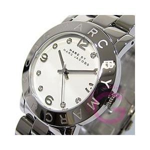 MARC BY MARC JACOBS (マーク バイ マークジェイコブス) Amy/アミー MBM3054 ラウンド メタルベルト シルバー レディースウォッチ 腕時計|goody-online