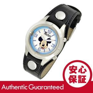 Disney (ディズニー) MCK534 MICKEY/ミッキーマウス アナログ ブラック×シルバー キッズ・子供 かわいい! レディースウォッチ 腕時計|goody-online