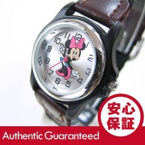 Disney (ディズニー) MCK624 MICKEY/ミッキーマウス ミニーマウス ナイロンベルト キッズ・子供 かわいい! レディースウォッチ 腕時計|goody-online