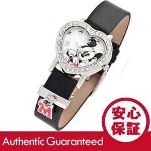 Disney (ディズニー) MCK966 MICKEY/ミッキーマウス アナログ ストーン装飾 ハート キッズ・子供 かわいい! レディースウォッチ 腕時計|goody-online