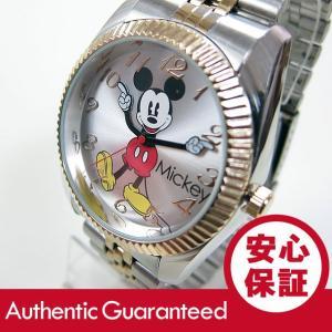 Disney (ディズニー) MCK990 MICKEY/ミッキーマウス アナログ メタルベルト  ゴールド×シルバー コンビ かわいい! ユニセックス 腕時計 【あすつく】|goody-online