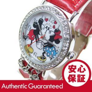Disney (ディズニー) MCKAQ1268 MICKEY/ミッキーマウス ミニーマウス ストーン装飾 キッズ・子供 かわいい! レディースウォッチ 腕時計|goody-online