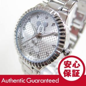 Disney (ディズニー) MCKAQ1483 MICKEY/ミッキーマウス アナログ ストーン装飾 シルバー キッズ・子供 かわいい! レディースウォッチ 腕時計|goody-online