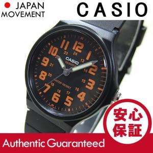 CASIO(カシオ) MQ-71-4B/MQ71-4B ベーシック アナログ オレンジ キッズ・子供 かわいい! メンズ/ユニセックス チープカシオ 腕時計 【あすつく】|goody-online