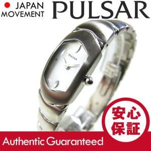 SEIKO PULSAR (セイコー パルサー) PEG575 シルバー メタルベルト スリム レディースウォッチ 腕時計【あすつく】|goody-online