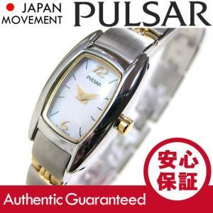 SEIKO PULSAR (セイコー パルサー) PJ5107 ツートーン ブレスレット メタルベルト スリム レディースウォッチ 腕時計【あすつく】|goody-online