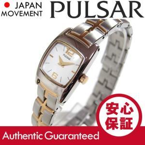 SEIKO PULSAR (セイコー パルサー) PJ5113 ツートーン ゴールド×シルバー ブレスレット メタルベルト レディースウォッチ 腕時計 【あすつく】|goody-online