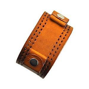 【ラグ幅:20-22mm対応】NEMESIS(ネメシス)PLB Leather Cuff/レザーカフ付け替えベルト アメリカンカジュアル 腕時計替えバンド/ベルト 【あすつく】|goody-online