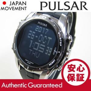 PULSAR(パルサー)アラームクロノグラフ PQ2003 デジタルクォーツ SEIKO USA/セイコー USA メンズウォッチ 腕時計|goody-online