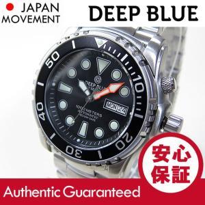 DEEP BLUE (ディープブルー) PSD1KBLACK Pro Sea Diver 1000m防水 ダイバーズ 自動巻き ブラックダイアル 腕時計 【あすつく】|goody-online
