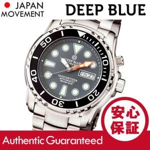 DEEP BLUE (ディープブルー) PSD1KGREY Pro Sea Diver 1000m防水 ダイバーズ 自動巻き グレーダイアル 腕時計|goody-online