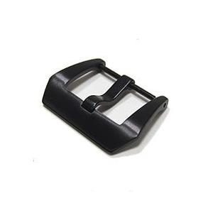 【20MM 替えバックル】 T2N Strap(T2Nストラップ) PT20-SC-PVD ネジピン式バックル ブラックPVD 交換パーツ 尾錠 腕時計用|goody-online