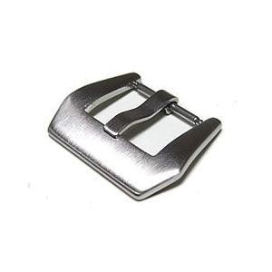 【20MM 替えバックル】 T2N Strap(T2Nストラップ) PT20-SP-B バネピン式バックル つや消しブラッシュ 交換パーツ 尾錠 腕時計用 【あすつく】|goody-online