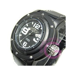 RETROWERK(レトレック) R014/R-014 自動巻き Miyotaムーブメント ドイツ船舶モチーフ ブラックダイヤル メンズウォッチ 腕時計|goody-online