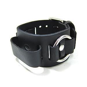 【ラグ幅:20-22mm対応】NEMESIS(ネメシス)RB Leather Cuff/レザーカフ付け替えベルト アメリカンカジュアル 腕時計替えバンド/ベルト|goody-online