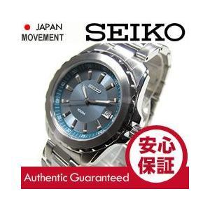 SEIKO(セイコー) SGEE71 BASIC ベーシック ブルーダイアル ステンレスベルト メンズウォッチ 腕時計【あすつく】|goody-online