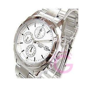 SEIKO (セイコー) SND187P クロノグラフ ステンレスベルト シルバー メンズウォッチ 腕時計|goody-online