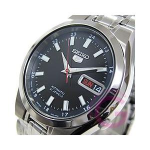 SEIKO(セイコー) SEIKO5/セイコー5 SNKG23J1 自動巻き ブラック メンズウォッチ 腕時計|goody-online
