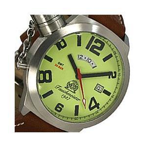 Tauchmeister 1937(トーチマイスター 1937) T0068 U-BOOT GMT ダイバーズモデル 文字盤蓄光 200m防水 ドイツミリタリー メンズウォッチ 腕時計|goody-online