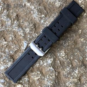 LUMINOX/ルミノックス対応 幅23MM ラバーベルト 交換ベルト 対応例:カラーマーク 3050 3051 3081 3151 8821 8823 8826など 腕時計用【あすつく】|goody-online