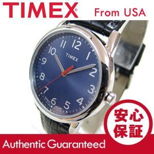 Timex (タイメックス) T2P317 Classics/クラシックス ブルーダイアル レザーベルト メンズウォッチ 腕時計 【あすつく】|goody-online