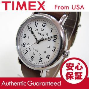 TIMEX (タイメックス) T2P495 Weekender/ウィークエンダー セントラルパーク ミリタリー レザーベルト ブラウン メンズウォッチ 腕時計【あすつく】|goody-online