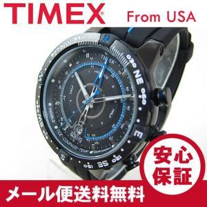 TIMEX (タイメックス) T49859 Expedition/エクスペディション Eタイド テンプ コンパス ブルー×ブラック メンズウォッチ 腕時計 【あすつく】|goody-online