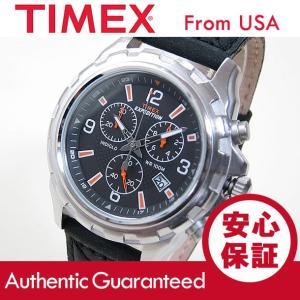 TIMEX (タイメックス) T49985 EXPEDITION/エクスペディション クロノグラフ レザーベルト ブラック メンズ 腕時計 【あすつく】|goody-online
