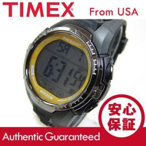 【大特価セール品】Timex (タイメックス) T5K803 マラソン ラバーベルト ブック×イエロー メンズウォッチ 腕時計【あすつく】|goody-online