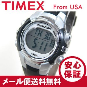 TIMEX (タイメックス) T5K805 Marathon/マラソン デジタル ラバーベルト ブラック レディースウォッチ 腕時計 【あすつく】|goody-online
