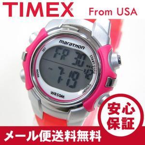 TIMEX (タイメックス) T5K808 Marathon/マラソン デジタル ラバーベルト ピンク レディースウォッチ 腕時計 【あすつく】|goody-online