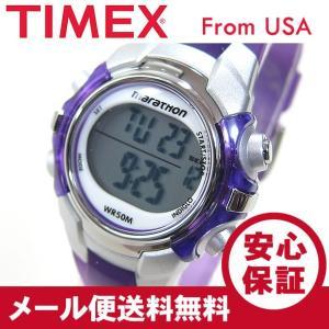 TIMEX (タイメックス) T5K816 Marathon/マラソン デジタル ラバーベルト パープル レディースウォッチ 腕時計 【あすつく】|goody-online
