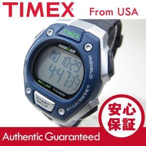 Timex (タイメックス) T5K823 IRONMAN 30-LAP/アイアンマン 30ラップ デジタル ラバーベルト ブルー ユニセックスウォッチ 腕時計 【あすつく】|goody-online