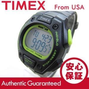 Timex (タイメックス) T5K824 IRONMAN 30-LAP/アイアンマン 30ラップ デジタル ナイロンベルト ブラック×グレー ユニセックスウォッチ 腕時計 【あすつく】|goody-online