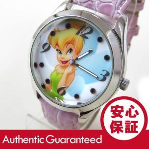Disney (ディズニー) TNK612 Tinker Bell/ティンカー・ベル アナログ ストーン装飾 キッズ・子供 かわいい! レディースウォッチ 腕時計 【あすつく】|goody-online
