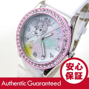 Disney (ディズニー) TNKAQ646 Tinker Bell/ティンカー・ベル アナログ ストーン装飾 キッズ・子供 かわいい! レディースウォッチ 腕時計|goody-online