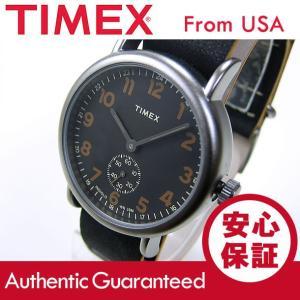 Timex (タイメックス) TW2P86700 Weekender Vintage Small Second/ウィークエンダー ヴィンテージ レザーベルト メンズウォッチ 腕時計【あすつく】|goody-online
