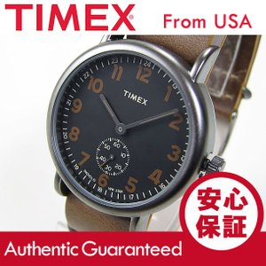 Timex (タイメックス) TW2P86800 Weekender Vintage Small Second/ウィークエンダー ヴィンテージ レザーベルト メンズウォッチ 腕時計【あすつく】|goody-online