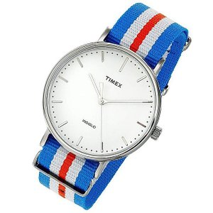 【レンズにキズ】 Timex (タイメックス) TW2P91100 Weekender Fairfield /ウィークエンダー フェアフィールド 41mm トリコロール腕時計|goody-online