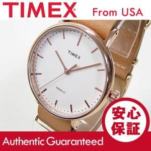 Timex (タイメックス) TW2P91200 Weekender Fairfield /ウィークエンダー フェアフィールド 41mm ローズゴールド メンズウォッチ 腕時計 【あすつく】|goody-online