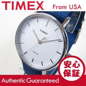 Timex (タイメックス) TW2P97700 Weekender Fairfield /ウィークエンダー フェアフィールド 41mm ネイビー メンズウォッチ 腕時計 【あすつく】|goody-online