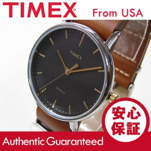 Timex (タイメックス) TW2P97900 Weekender Fairfield /ウィークエンダー フェアフィールド 41mm ブラウン メンズウォッチ 腕時計 【あすつく】|goody-online