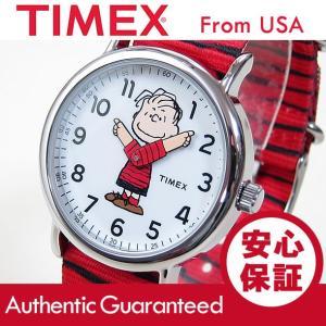 TIMEX (タイメックス) TW2R41200 Peanuts/ピーナッツ スヌーピー ライナス キッズ・子供にオススメ! かわいい! ユニセックス 腕時計 【あすつく】|goody-online