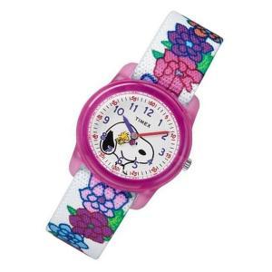 TIMEX (タイメックス) TW2R41700 Peanuts/ピーナッツ スヌーピー ウッドストック キッズ・子供にオススメ! かわいい! キッズウォッチ 腕時計|goody-online