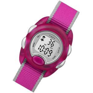TIMEX (タイメックス) TW2R9900 Time Machines/タイムマシーン デジタル ナイロンベルト ピンク キッズ・子供にオススメ キッズウォッチ 腕時計 【あすつく】|goody-online