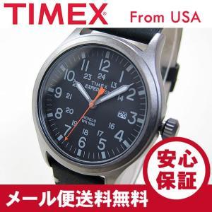 TIMEX (タイメックス) TW4B01900 Expedition Scout/エクスペディション スカウト レザーベルト ブラック メンズウォッチ 腕時計【あすつく】|goody-online