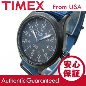 TIMEX (タイメックス) TW4B04800 Expedition Scout/エクスペディション スカウト ナイロンベルト ブルー メンズウォッチ 腕時計 【あすつく】|goody-online