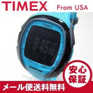TIMEX(タイメックス) TW5M00600 IRONMAN SLEEK 150/アイアンマン スリーク 150ラップ タップスクリーン ブルー メンズウォッチ 腕時計【あすつく】|goody-online