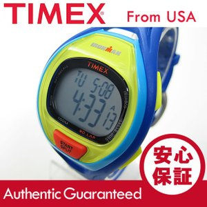 TIMEX (タイメックス) TW5M01600 IRONMAN SLEEK 50/アイアンマン スリーク 50ラップ デジタル ラバーベルト ブルー メンズウォッチ 腕時計 【あすつく】|goody-online