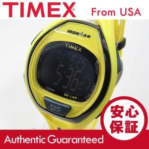 TIMEX (タイメックス) TW5M01800 IRONMAN SLEEK 50/アイアンマン スリーク 50ラップ デジタル ラバーベルト BK×YL メンズウォッチ 腕時計【あすつく】|goody-online